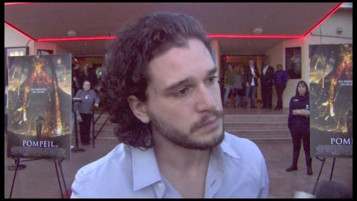 "Kit Harington Interview - ""Pompeii"""