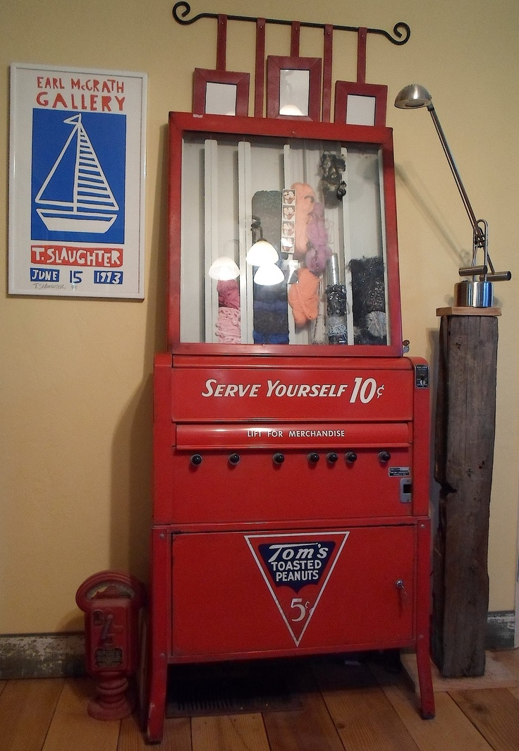 Vintage Snack Vending Machine