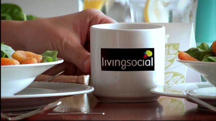 Skywriting: Living Social's Dollar Lunch Day