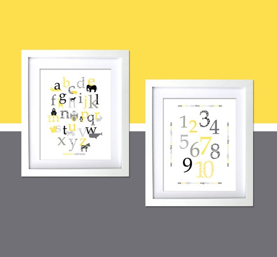 Personalized prints for kids room Retro by FancyPrintsforHome, $45.00