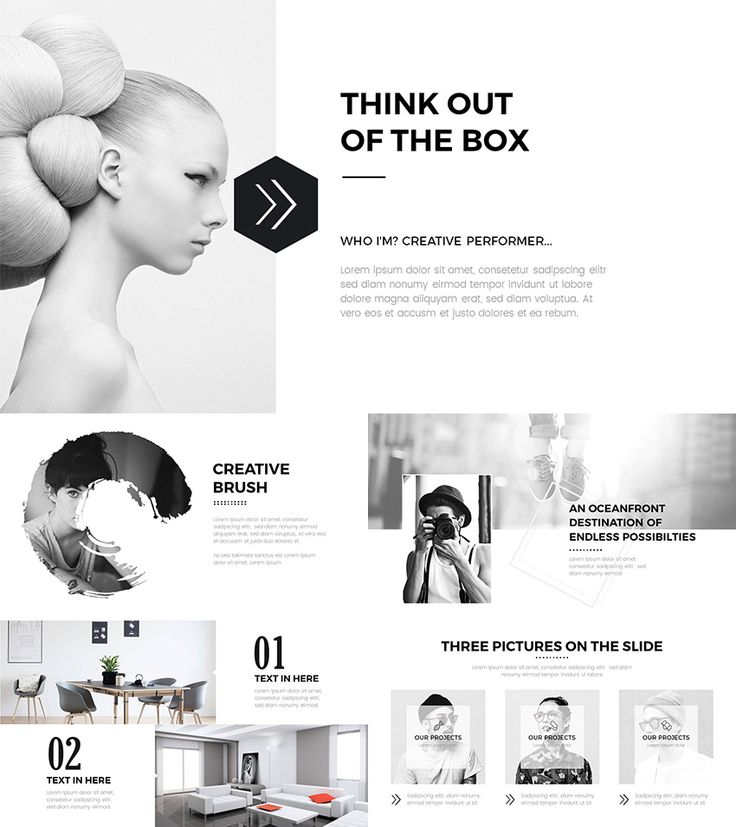 Creative PPT Template Design