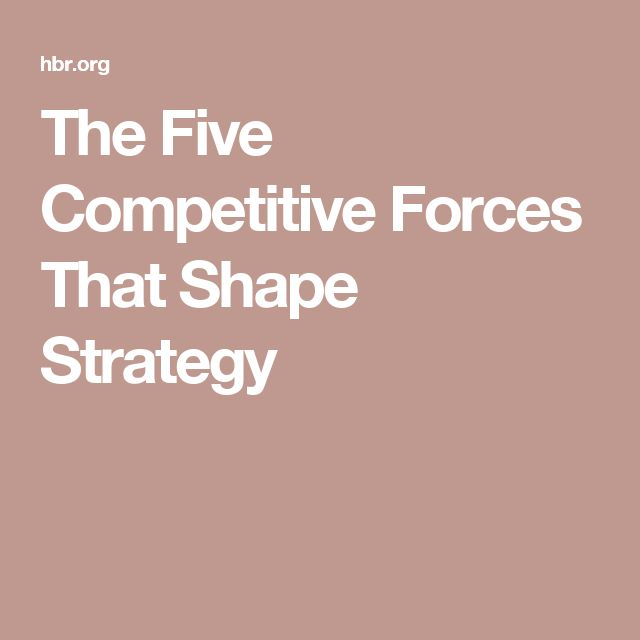 5 competitive forces that shape strategy Strategy skills porter's five forces wwwfree-management-ebookscom  how to measure competitive rivalry using the concentration ratio and the her.