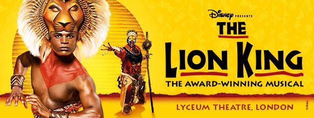 Billetter til Disney's The Lion King - Lyceum Theatre i London