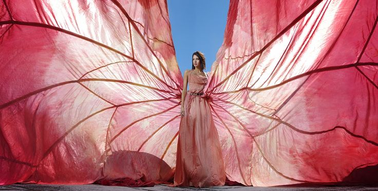 parachute dress editorial - Google Search