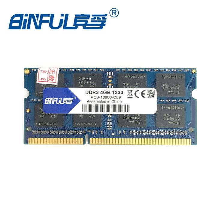21.60$  Buy now - http://alif4h.shopchina.info/go.php?t=32582768425 -  Binful DDR3 4gb 1333/1066/1600MHZ PC3-10600 8500 12800 ram for laptop computer notebook Memory Memoria sodimm Lifetime Warranty 21.60$ #SHOPPING