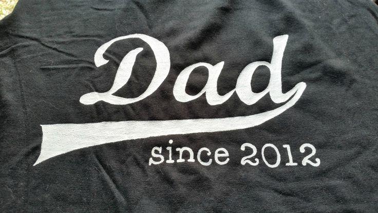 cadeau T-shirt fête des pères Home-made