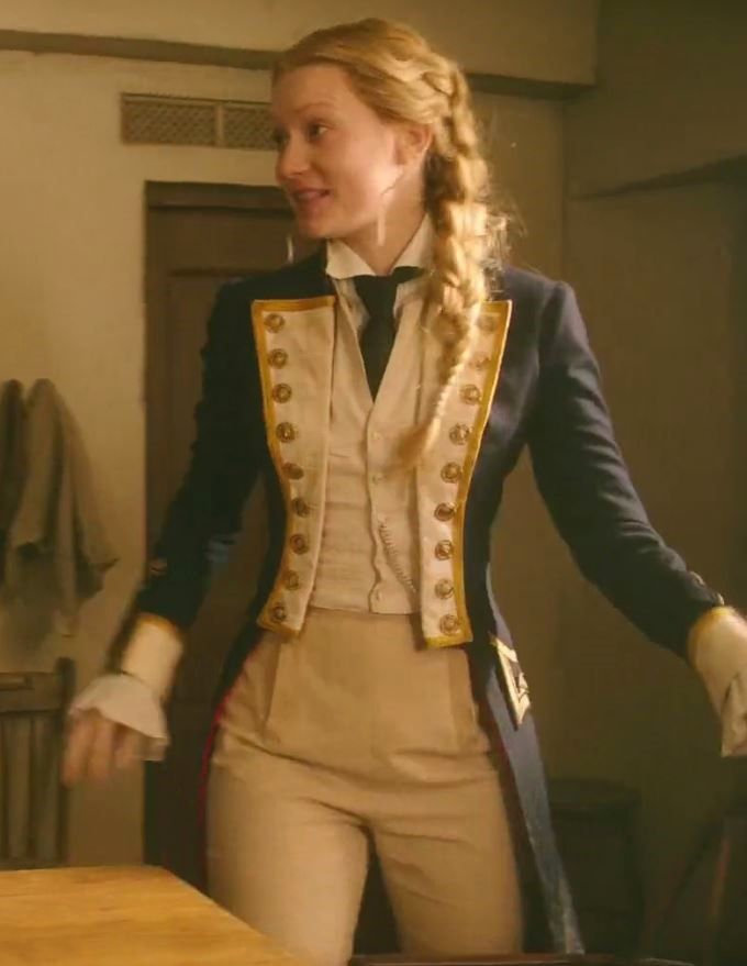 Alice through the Looking Glass: Alice: obsessed with the Naval coats:uniforms she wears!!