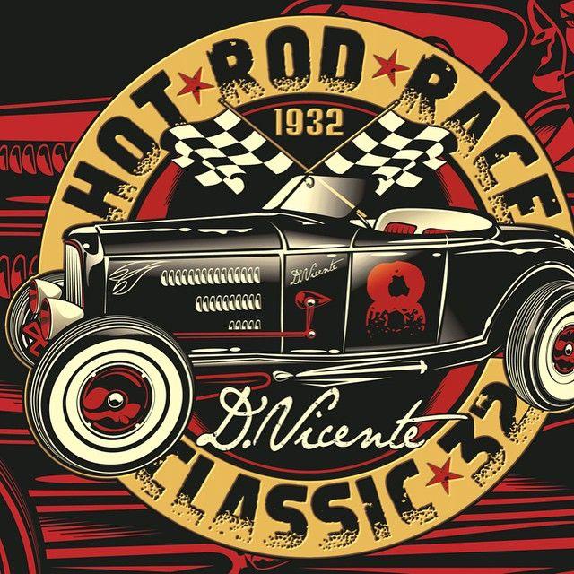 Poster...Hot Rod Race !!! #Padgram