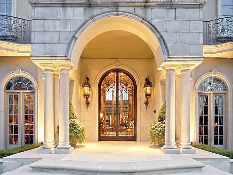 30 best images about wrought iron door on pinterest for Grand front doors