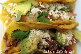 Shredded Pork Tacos     Riches to Rags by Dori was started based on the difficult times our family has been through over the las...