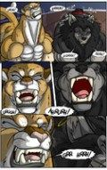 FurAffinity user Tetanus is uploading a page a day of a comic that Keanon Woods, aka Black-Rat on DeviantArt, did as a commission. During a full moon in the city, women start changing into ferociou…