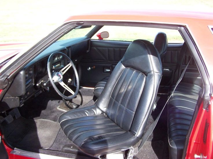 1974 Chevelle Malibu 454 M21 4 Speed Interior Swivel