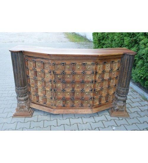 Indyjski drewniany #bar Model: HS-16-069 co tylko 2,744 zł. Kupuj online @ http://goo.gl/lerVgp