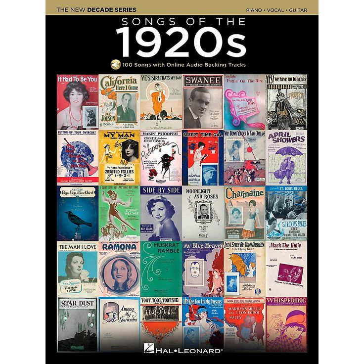 Hal Leonard Songs Of The 1920's - The New Decade Series with Optional