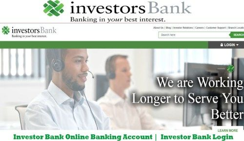 Investor Bank Online Banking Account | Investor Bank Login - Tecteem