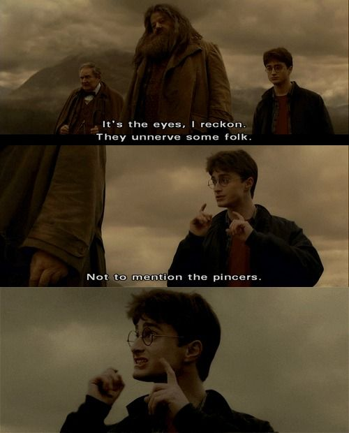 And the Pincers HarryPotter