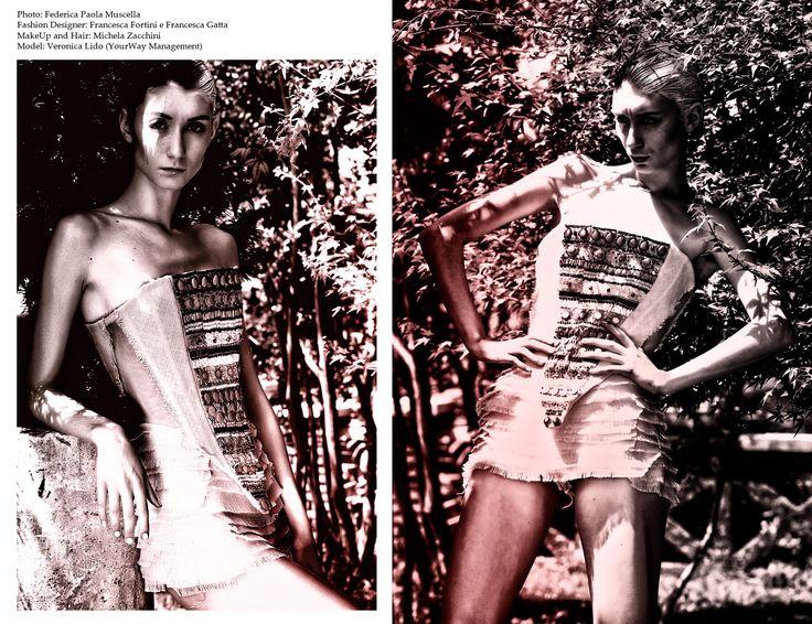 PH: Federica Paola Muscella   FASHION DESIGNERS: Francesca Fortini Francesca Gatta   MUA & HAIR: Michela Zacchini  MODEL:  Veronica Lido