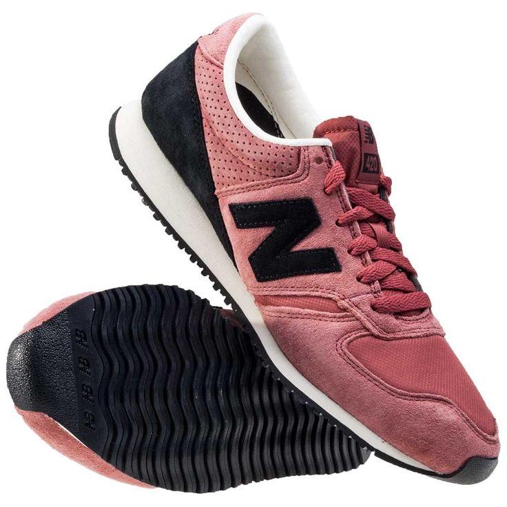 """#Buty New Balance U420CK Classics  - Unisex (zarówno dla kobiet jak i mężczyzn), - Kolor: super unikatowy kolor (odcienie czerwieni oraz różu), - Strona zewnętrznai wewnętrzna: czarne """"N"""" w stylu New Balance, - Język: naszywka z logo New Balance, - Pięta: logo New Balance, - Materiał: najwyższej jakości materiały tekstylne oraz zamsz (dodatki), - Podeszwa: czarna,  - Zalety: solidne, trwałe, świetne do do użytku codziennego,  #butymęskie #butydamskie #obuwie #kolekcjaNewBalance #Newbalance"""