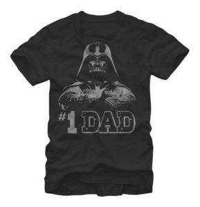 This Darth Vader shirt that is perfect for the dad who belongs to the Dark  Side (