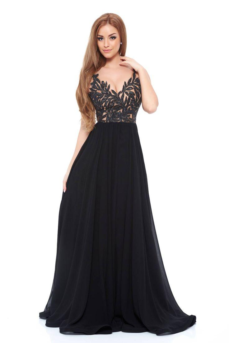 Ana Radu Gorgeous Black Dress
