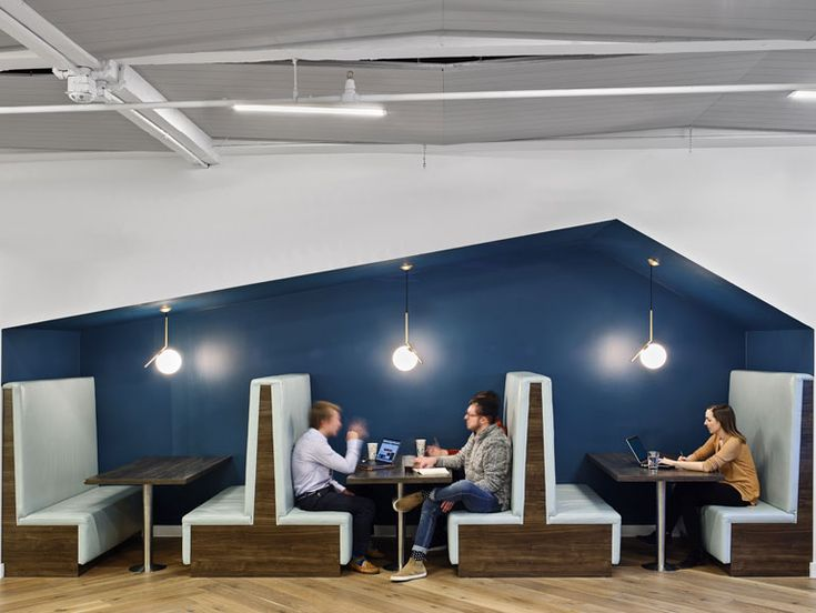Flos IC Suspension Lights Illuminates This Offices Cafe Get At LightForm