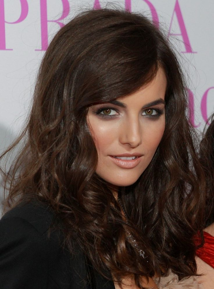 Camilla Belle // Brown drop shadow // Eye Makeup