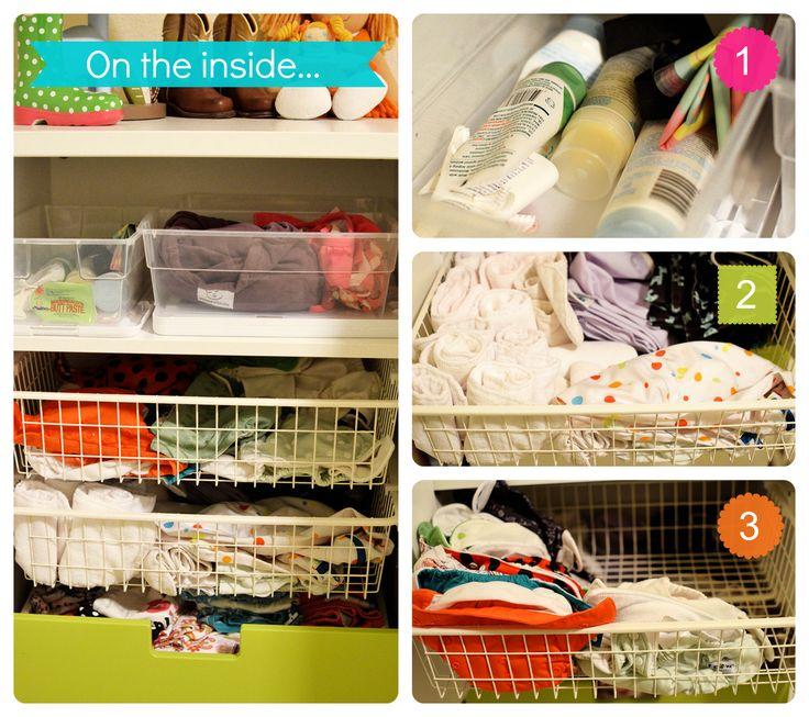 Ikea Stuva Cloth Diaper Storage