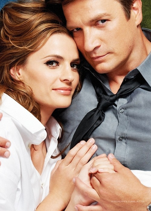 Richard Castle & Kate Beckett | Castle (2009 - )   #nathanfillion #stanakatic #couples
