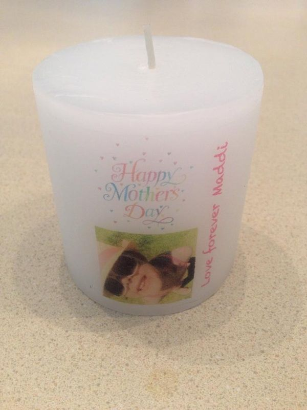 Mother's Day Photo Candle $15 Website: www.purplebutterflydesigns42.weebly.com Facebook: www.facebook.com/purplebutterflydesigns90 Instagram: www.instagram.com/purplebutterflydesigns