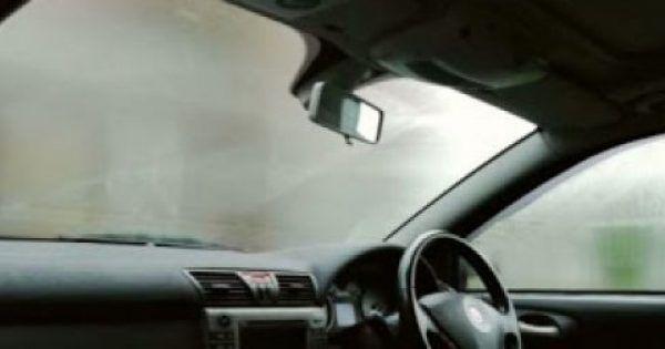 To κόλπο για να μη θολώνουν τα τζάμια του αυτοκινήτου