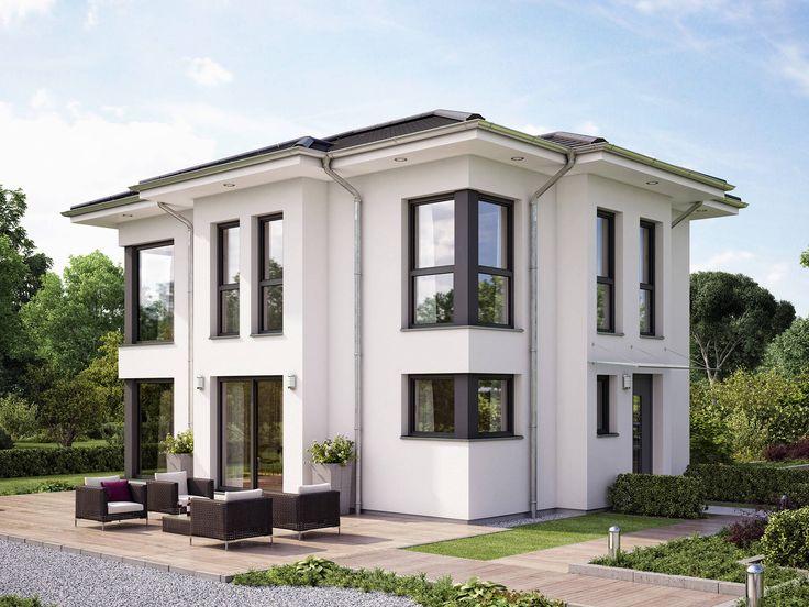 Musterhaus modern walmdach  Bien-Zenker Evolution 122 V14 | haus | Pinterest | Bien zenker ...