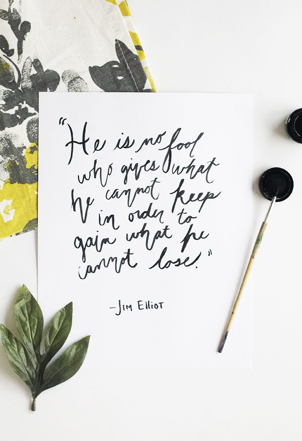 The life of Jim Elliot
