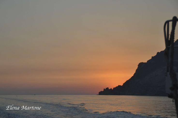 Il sole è tramontato.....