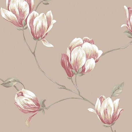 English Magnolia Vine Wallpaper