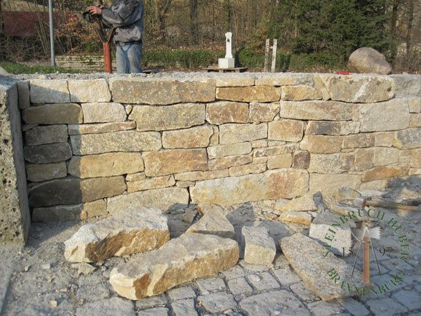 Die besten 25+ Granit mauersteine Ideen auf Pinterest Granit - steine fur gartenmauer
