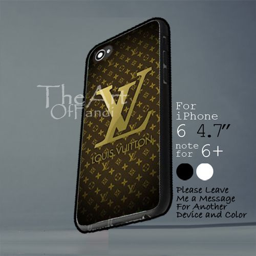 louis vuitton logo case Iphone 6 note for 6 Plus