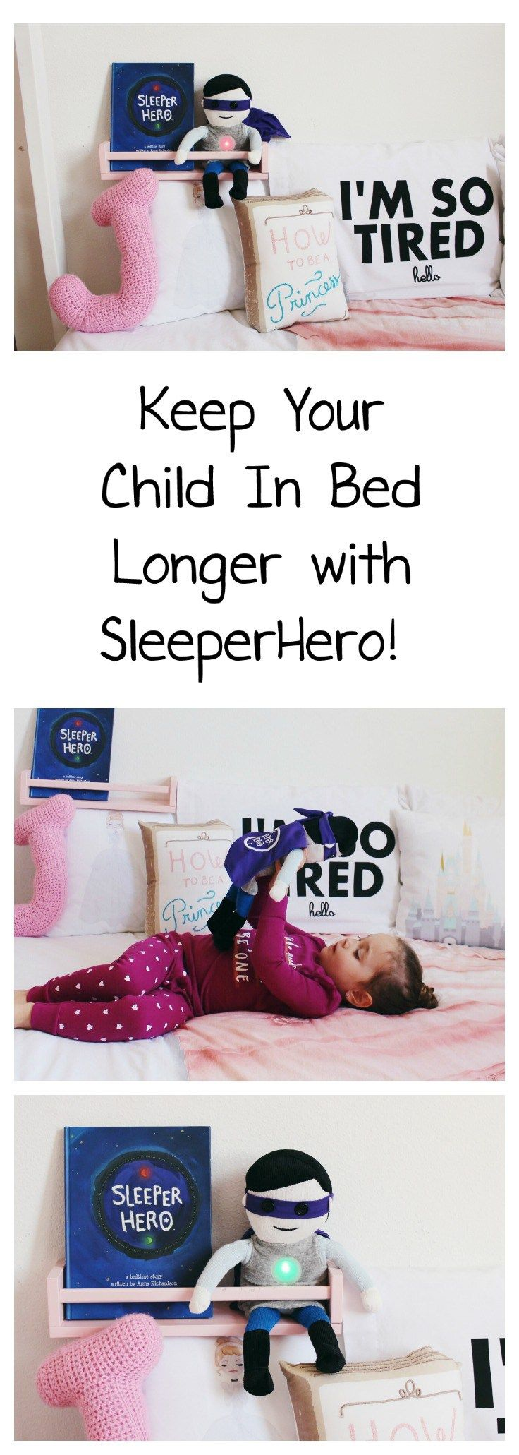 Keep Early Risers In Bed With SleeperHero - Oh Happy Play | OK to wake clock | Stay In Bed Clock | SleeperHero | Sleeper Hero | Bedtime Routine | Sleep through the night | Early Risers Stay In Bed | Super Hero Doll | Super Hero For Girls | Girl Room | House Frame Floor Bed | Montessori Room | I'm So Tired | Bedtime Routine | Night Time Routine | Kids bedtime story