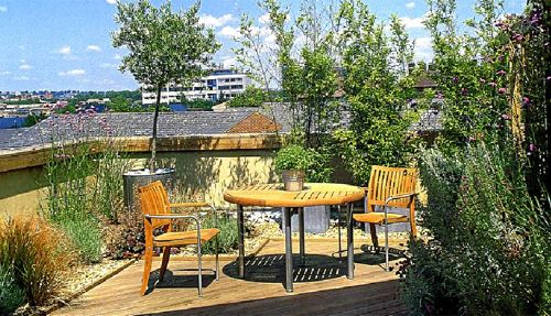 Terraza urbana, imprescindible la vegetación. Cuqui ...