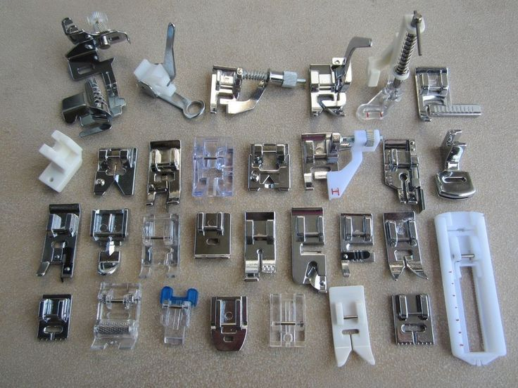 Presser Foot Feet Kit Set For Singer Janome Brother Domestic Sewing Machine Part #NA