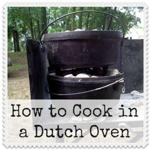 Como cozinhar em um forno holandês