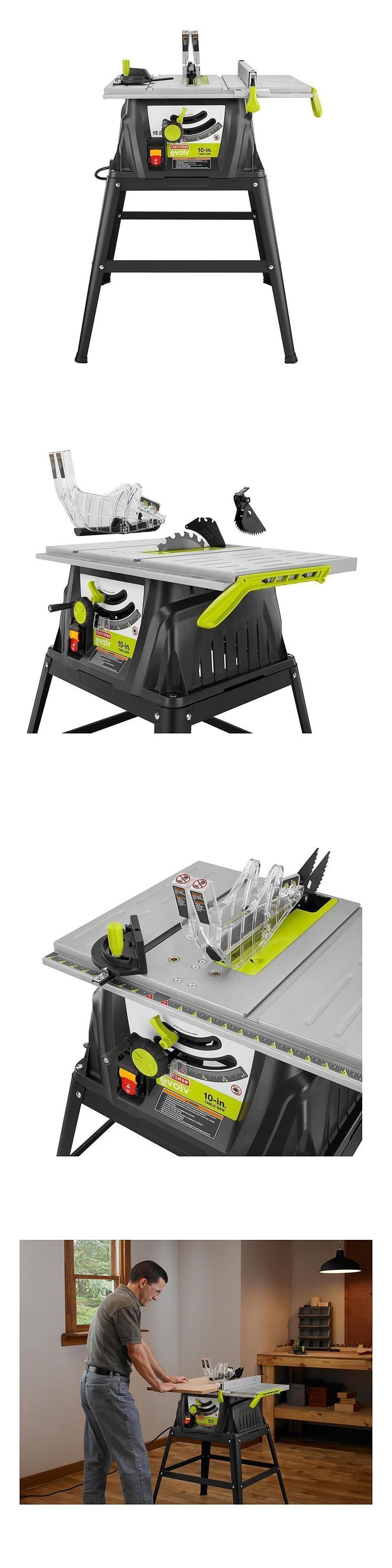 Table Saws 122835: Craftsman Evolv 15 Amp 10 In. Table Saw 28461 - Brand New -> BUY IT NOW ONLY: $132.99 on eBay!