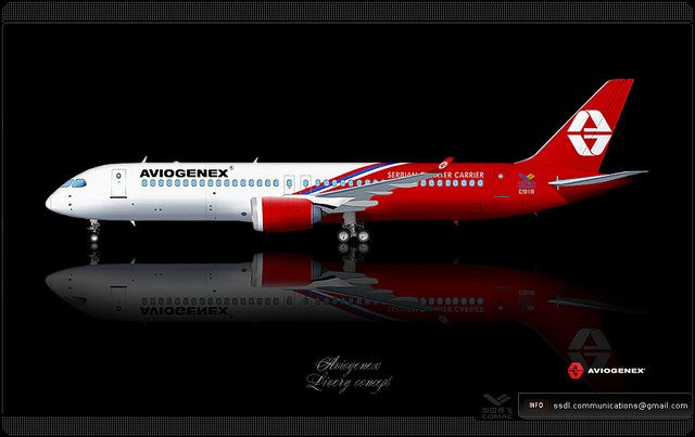 Aviogenex / 中国商飞 COMAC C919 / Livery concept
