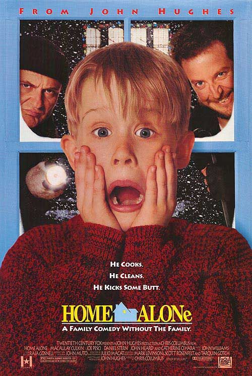 Home Alone movie posters at movie poster warehouse movieposter.com
