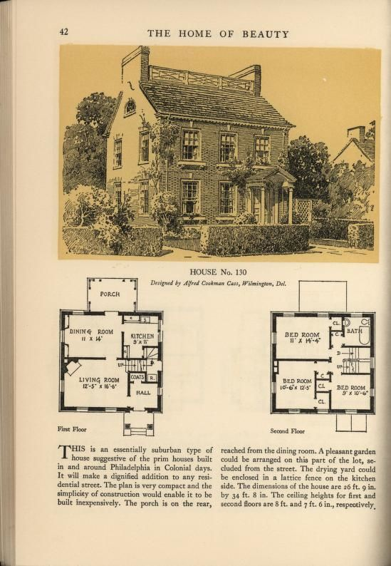 Architect House Plans 257 best house plans 1900 - 1930s images on pinterest | vintage
