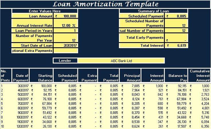 Download GST Receipt Voucher Excel Template against receipt of - payment advice slip