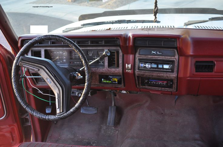 Rod Baker Ford >> ford 1985 f-150 interior - Google Search   Classic ford ...