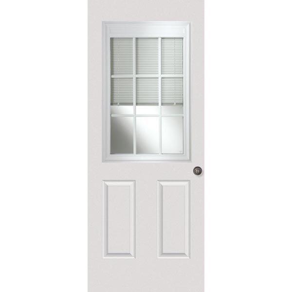 Odl Enclosed Blinds Low E Glass Triple Pane 9 Light Internal Grille 24 X 38 Frame Kit Enclosed Blinds Glass Pocket Doors Wood Doors Interior