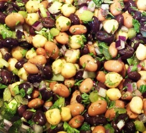 Wild Harvest Three Bean Salad Recipe!!!  Great for your summer picnic's or backyard BBQ...Enjoy!!!