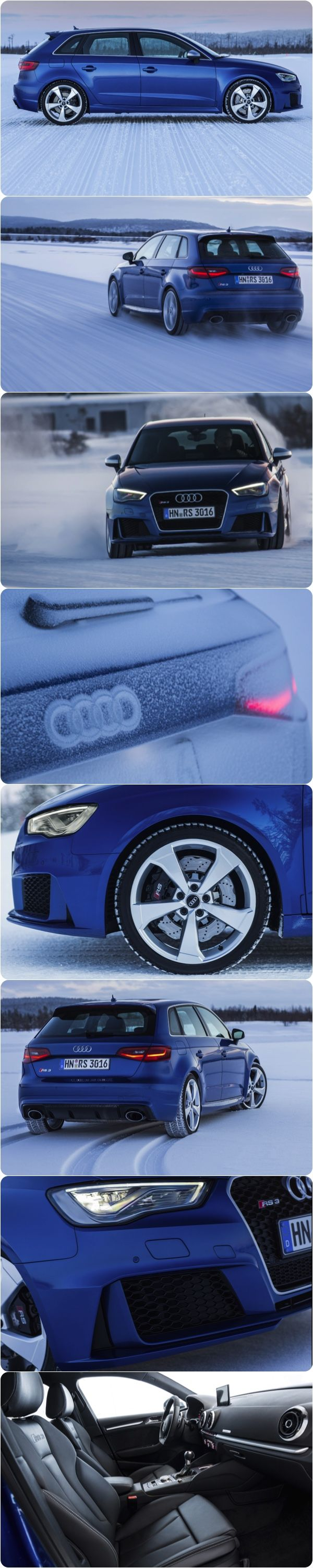 A Rather Cool New Audi - The RS 3 Sportback  New 367PS Audi RS 3 Sportback Ready to fly Audi have released the latest pictures of their Supercar Compact Hatchback – The New Audi RS 3 Sportback - Click to Read More  #AUDI #Sportcars #RS #Newcars