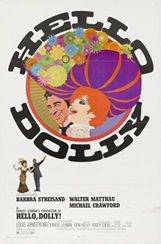 『ハロー・ドーリー』(1969年、日本公開同年) 監督:ジーン・ケリー 主演:バーブラ・ストライザンド、ウォルター・マッソー 大山恭彦氏所蔵